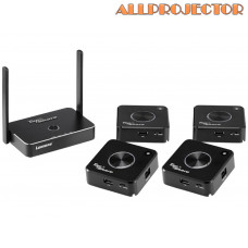 Wireless Presenation System, One Tapshare Box And 4 Tapshare Pods (TS20 4T1R)